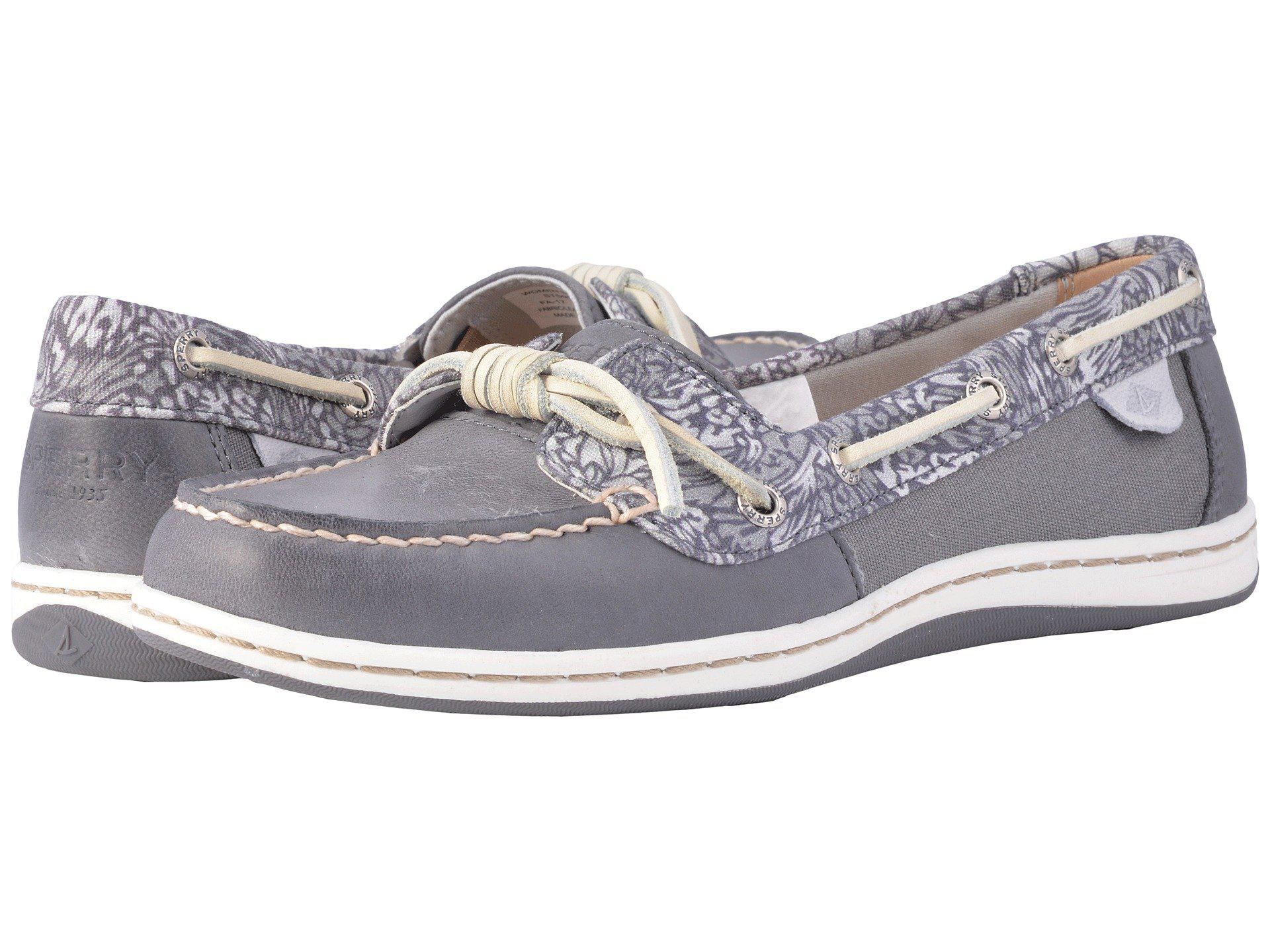 49fbbb95f922 Sperry Top-Sider Barrelfish Animal Print in Gray - Lyst
