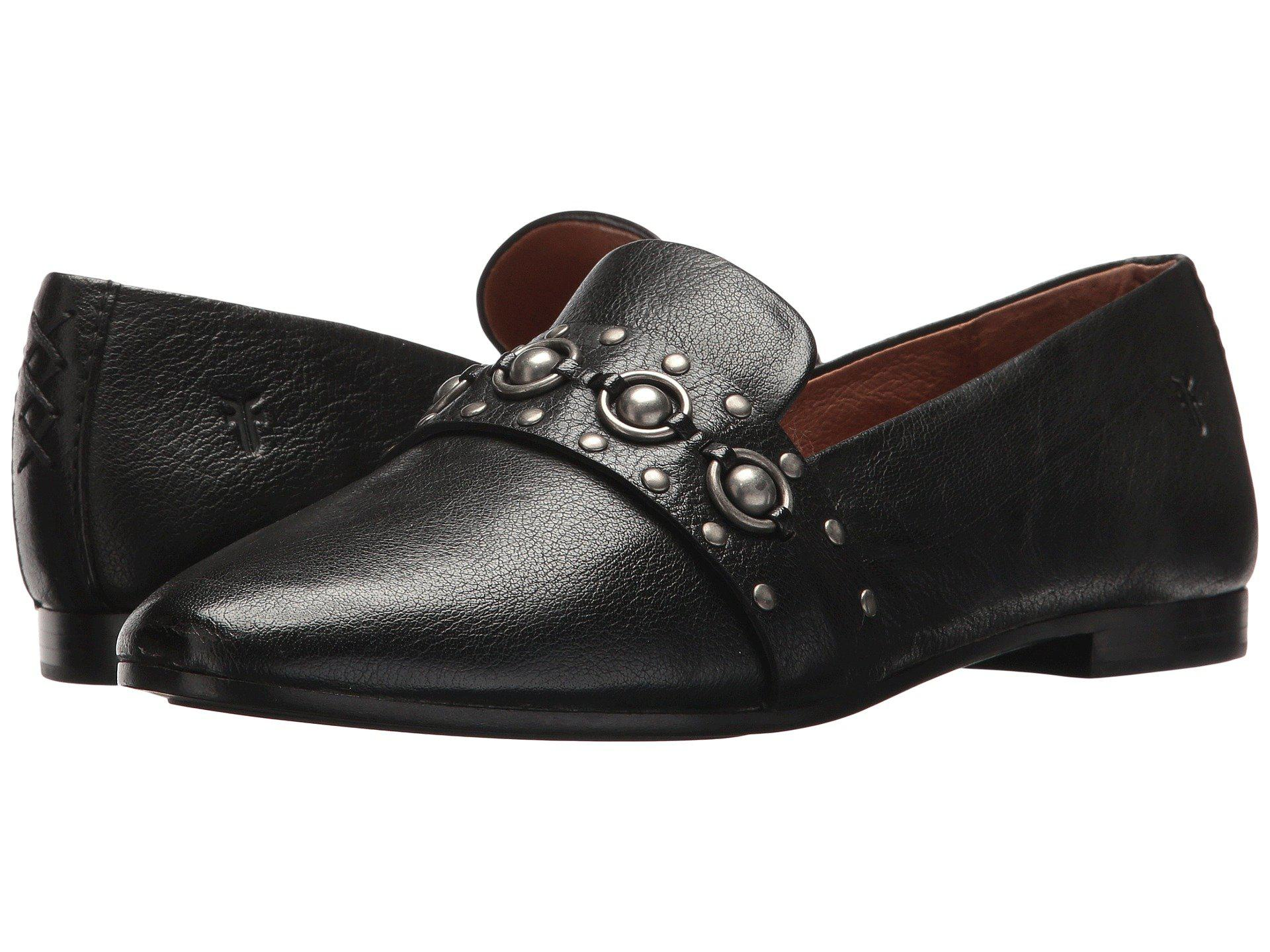 aba6922e4d4 Lyst - Frye Terri Multi Stud Loafer Flat in Black - Save 64%