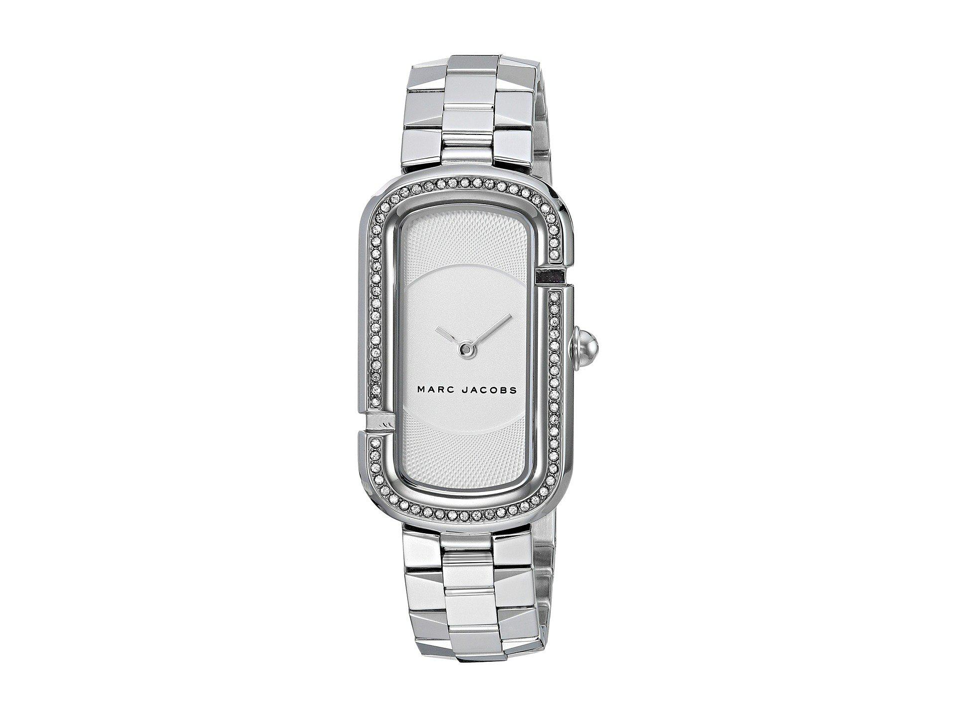 Marc Jacobs Womens Riley White Leather Watch Mj1517 Details Mj1438 Gallery