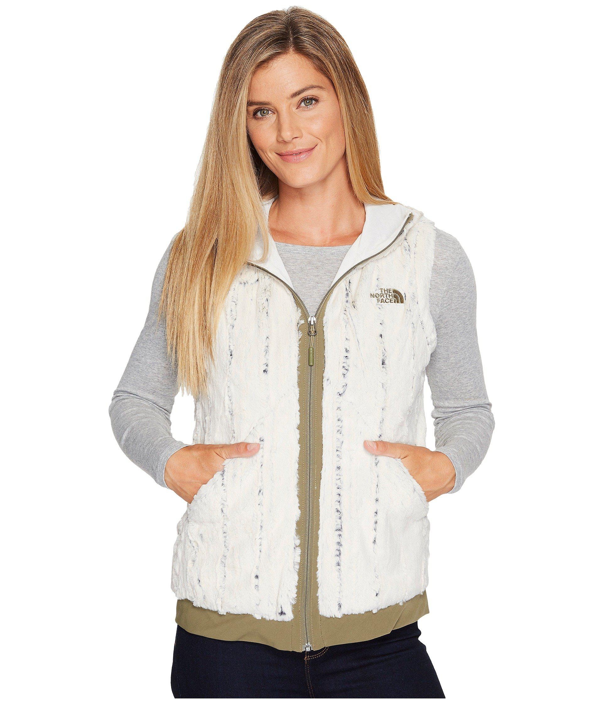 8491e660d909 The North Face - White Furlander Vest - Lyst. View fullscreen