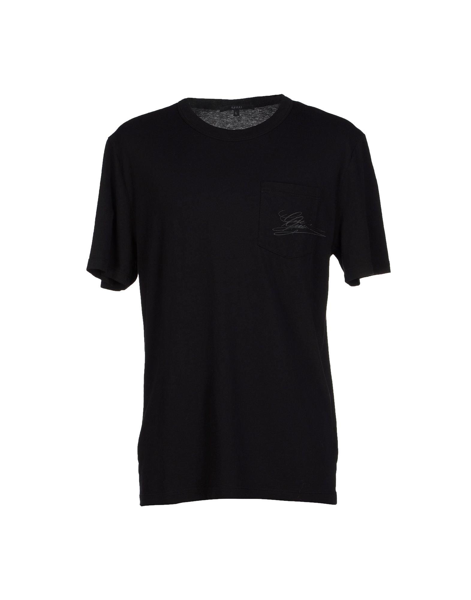 lyst gucci t shirt in black for men. Black Bedroom Furniture Sets. Home Design Ideas