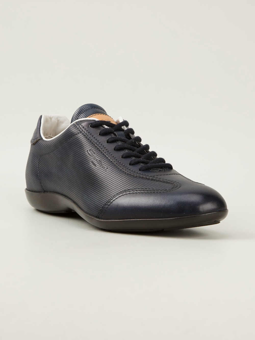 Sneakers dark navy Santoni