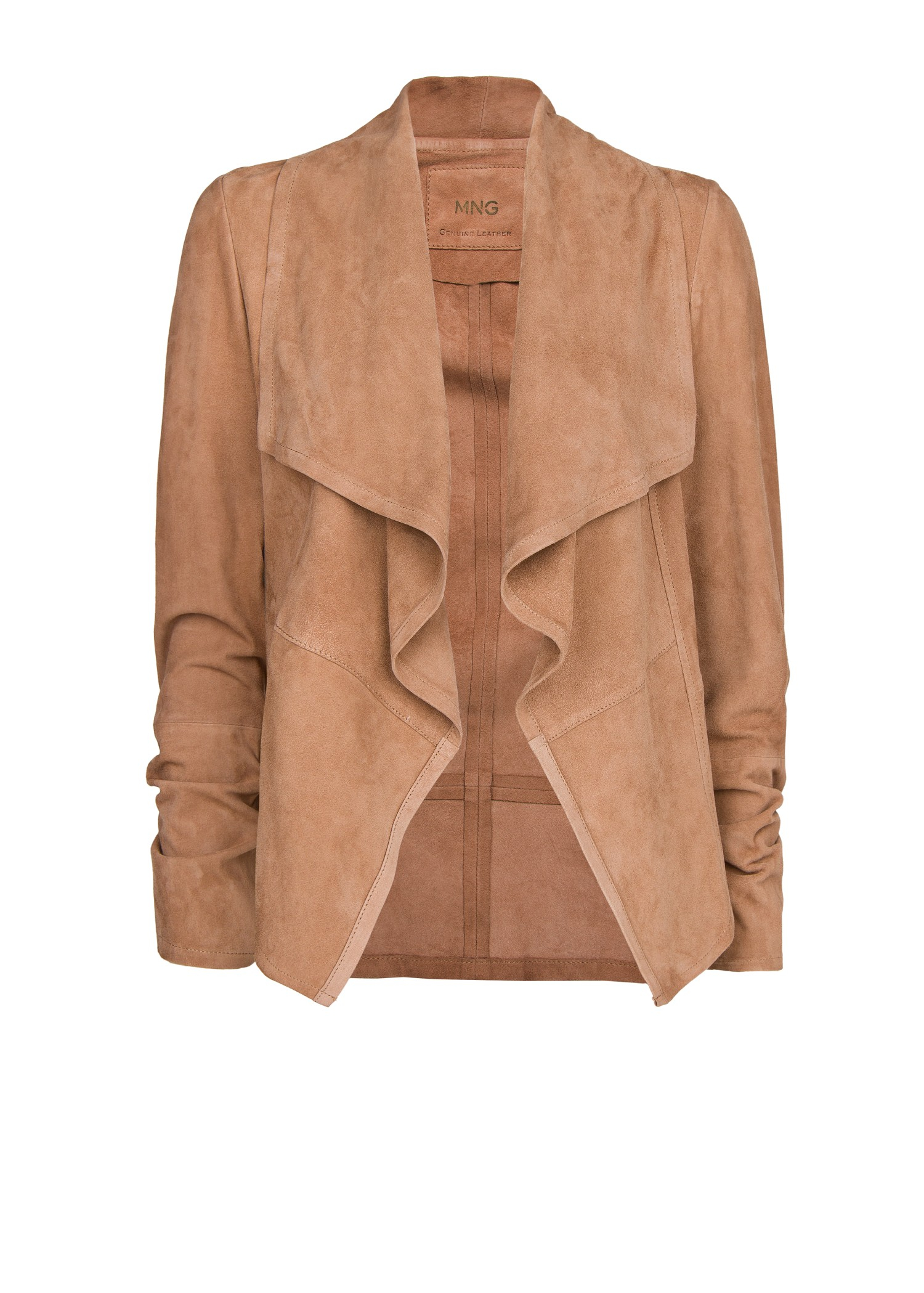 Mossimo Supply Co. Womens Size Medium,TAN SUEDE JACKET, BLAZER, Genuine Leather. $ 0 Bids or Buy It Now 1d 9h. See Details. Genuine Suede Liz Claiborne Tan Beige Leather Jacket Size 8 Collared Blazer. $ Buy It Now 1d 16h. See Details.