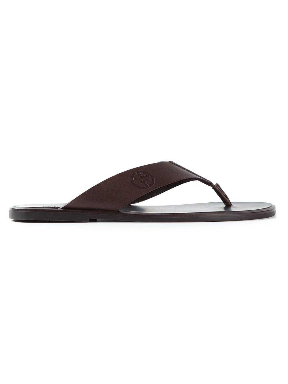 Armani Thong Sandals