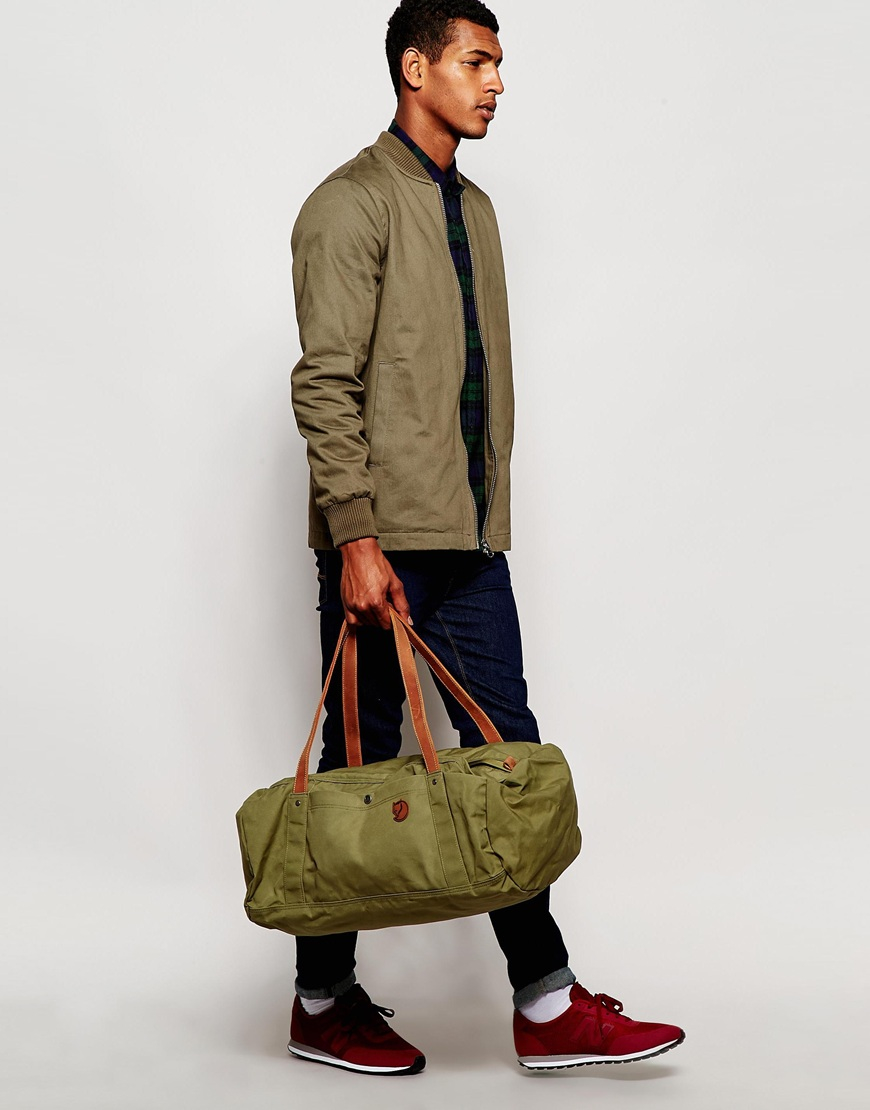 e9d3168b72d3 Lyst - Fjallraven No.4 Duffle Bag In Large in Green for Men