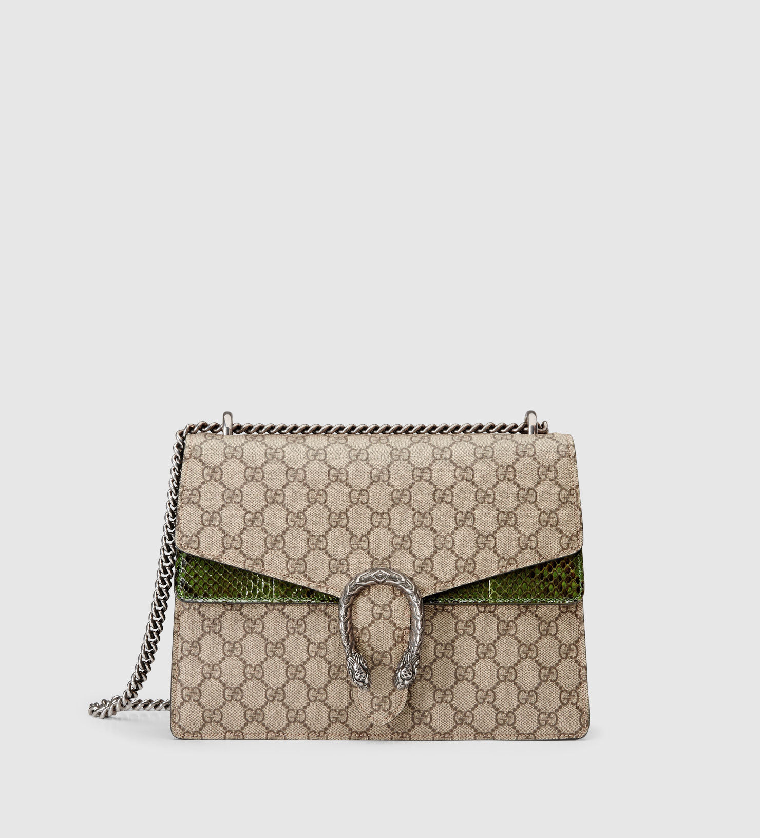 b19c52f6d4 Gucci Dionysus Gg Supreme Shoulder Bag in Natural - Lyst