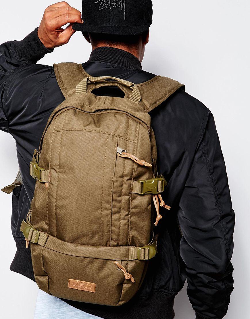7baa89b31b Lyst - Eastpak Floid Backpack in Green for Men