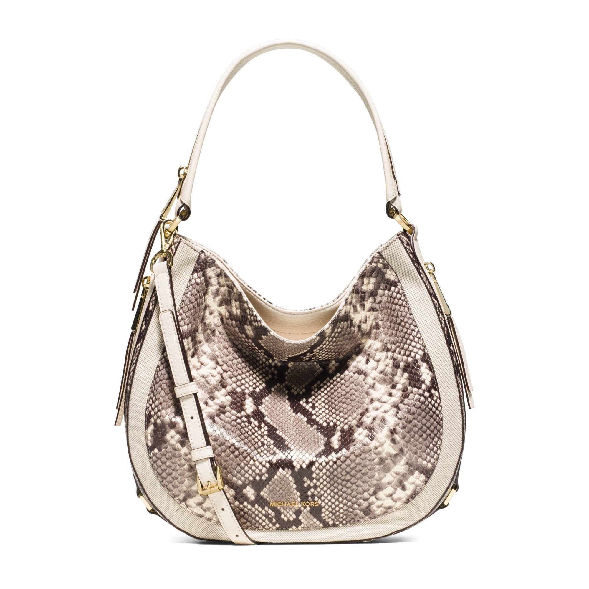 89e44d04c484 michael kors embossed leather bag susannah tote ebay - Marwood ...
