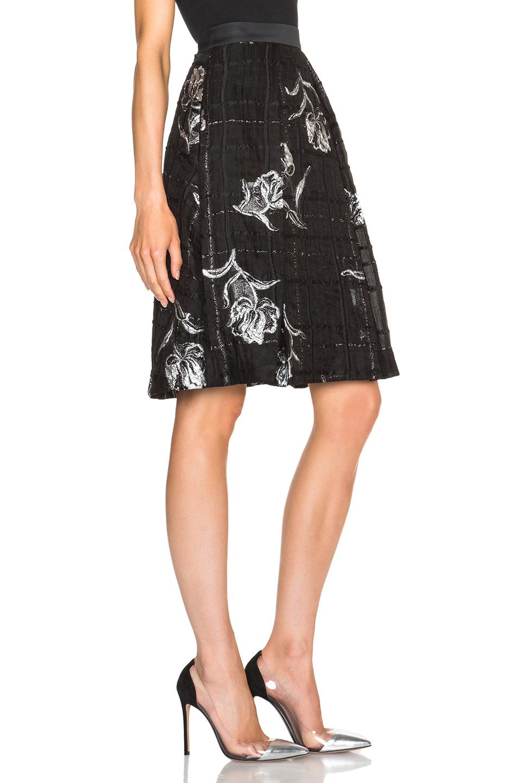 Black Organza Skirt 117