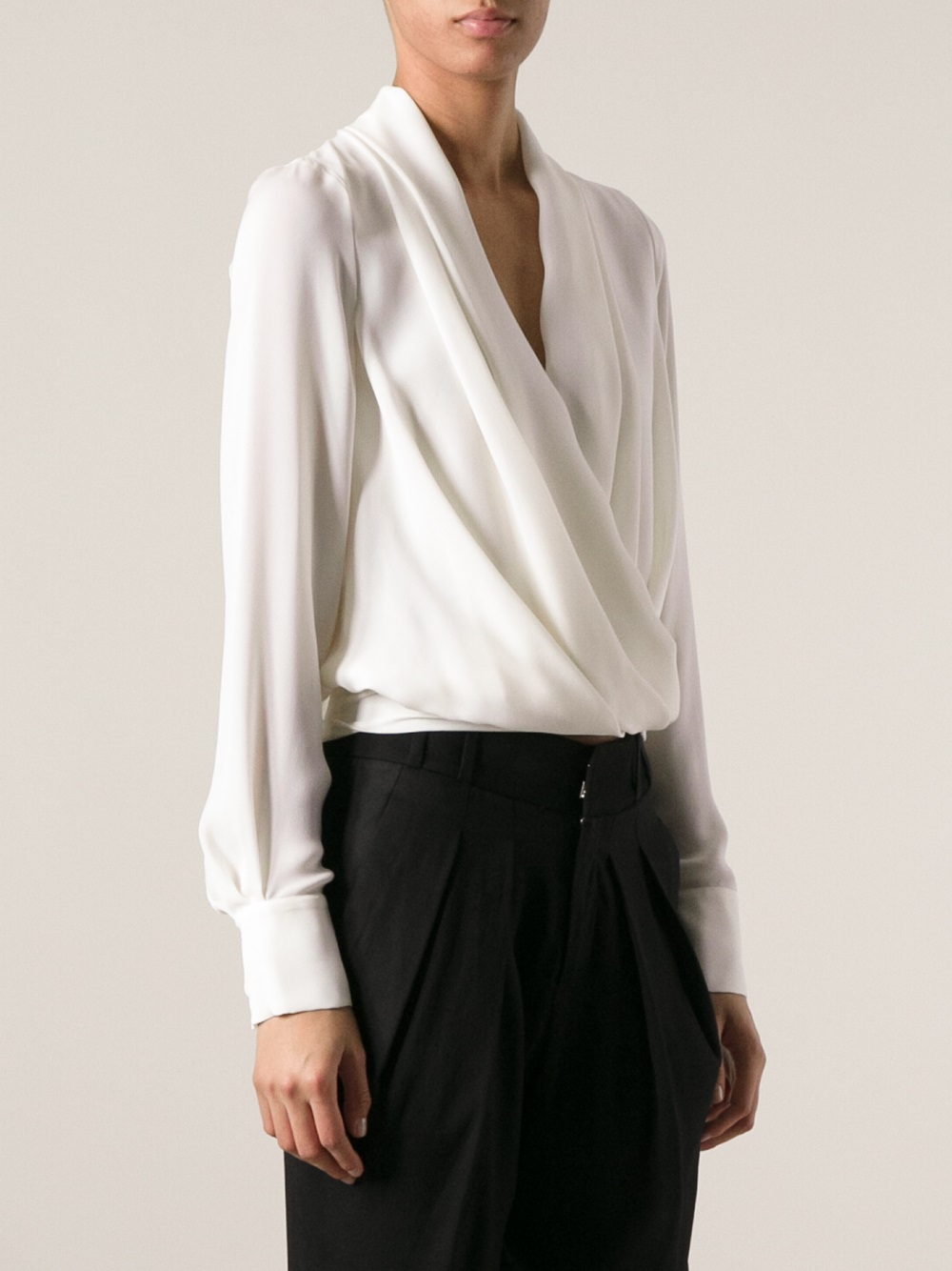 by blouses mccartney nl drapes draped ikrix stella blouse