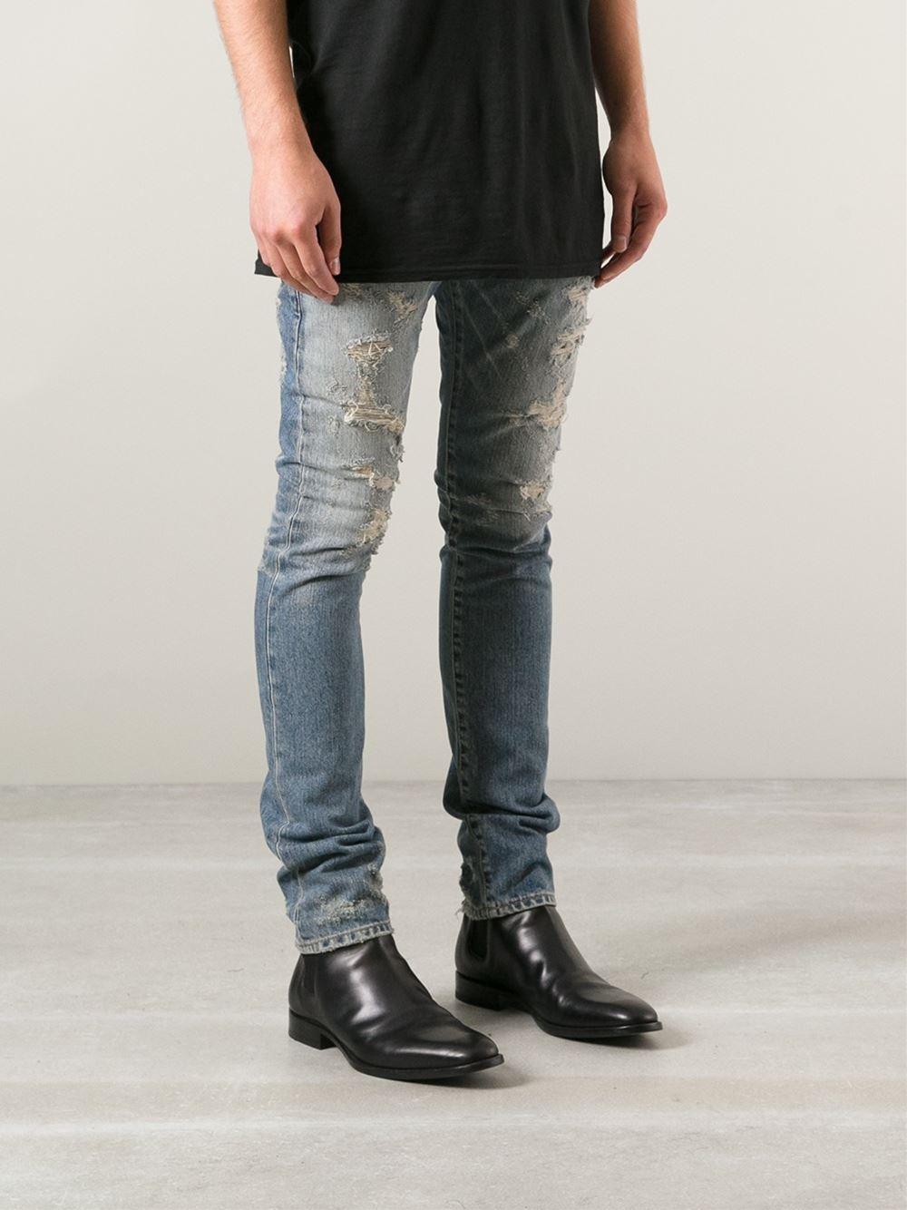 Destroyed Men Jeans