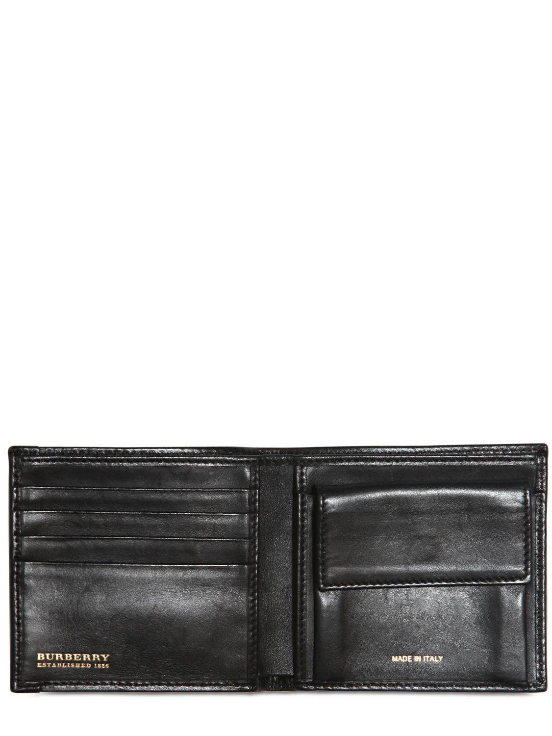 de18f0e062a3 Lyst - Burberry Classic Check Coin Wallet in Black for Men