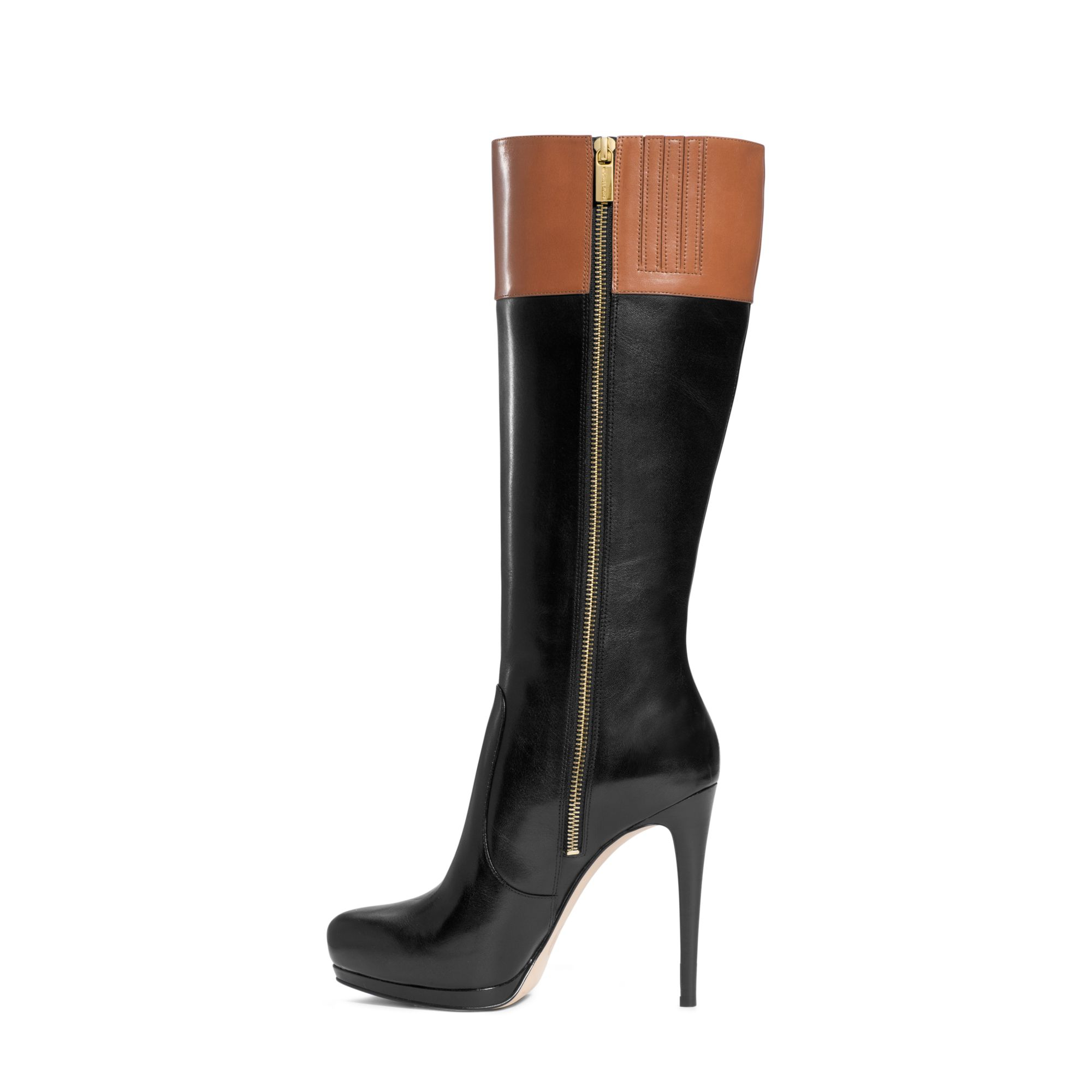 f73a4592be16 Michael Kors Hayley Boot in Black - Lyst