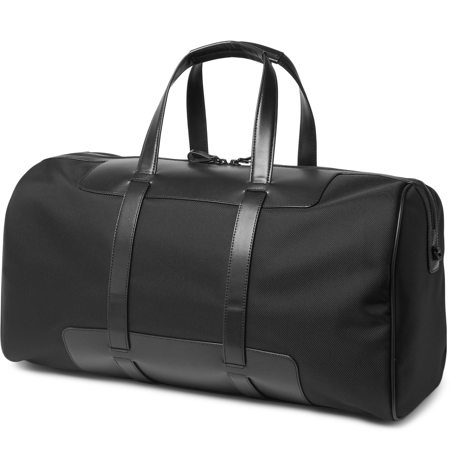 Montblanc Nightflight 55 Leather-trimmed Shell Cabin Bag in Black ...