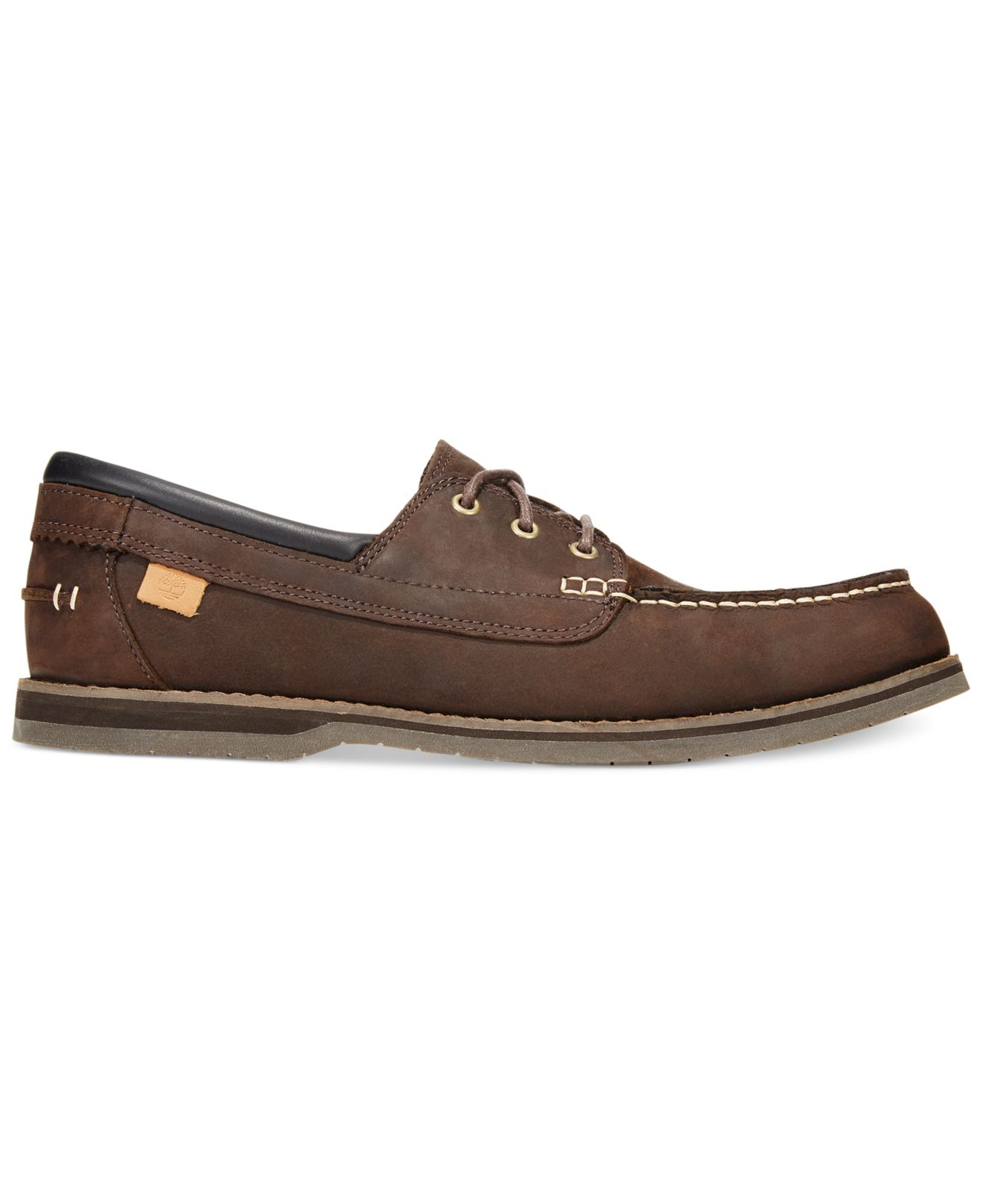 timberland s bluffton boat shoes in brown for lyst