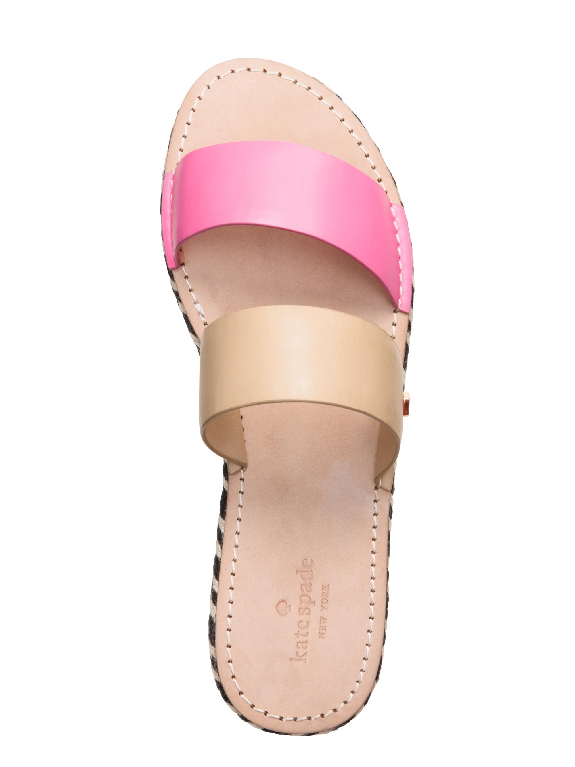 Kate Spade New York Idreena Sandals In Brown Lyst
