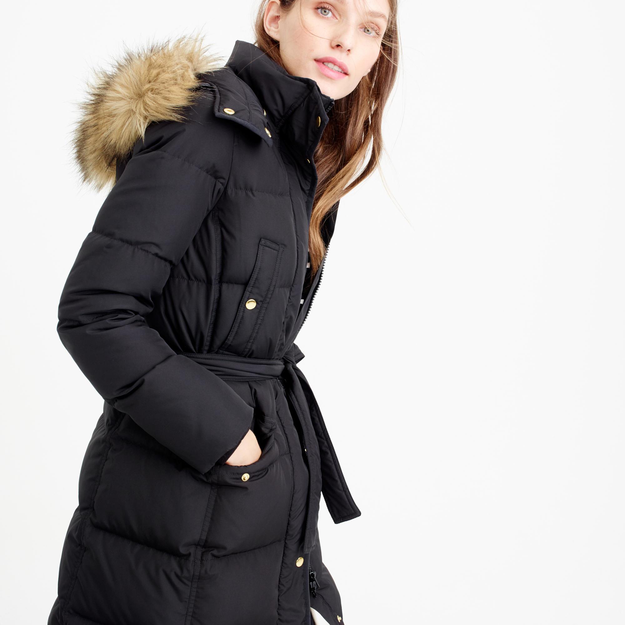640fcfb3d19f Black Puffer Fur Coat - Tradingbasis