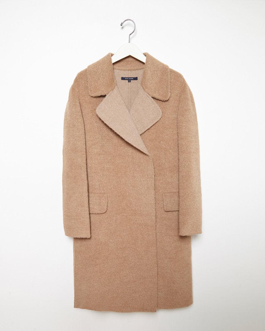 Carmel Cashmere-Blend Coat Sofie D Outlet Shop Choice Sale Online Sale Factory Outlet xEyzXTyB