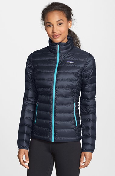 Patagonia Packable Down Sweater Jacket, Blue in Blue | Lyst