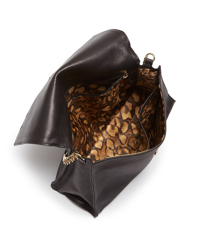 Lyst - Longchamp Paris Rocks Shoulder Bag in Gray 153dc016ffadf