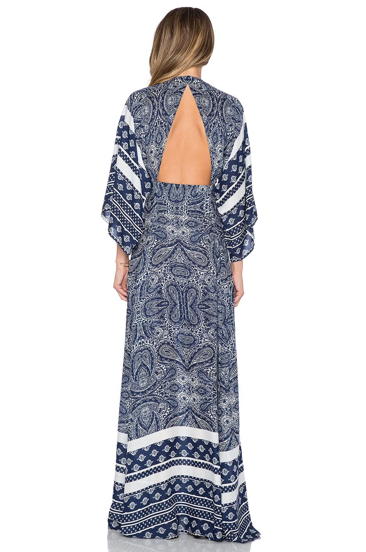 b10bc19d2ce Lyst - Tularosa X Revolve Rosella Maxi Dress in Blue
