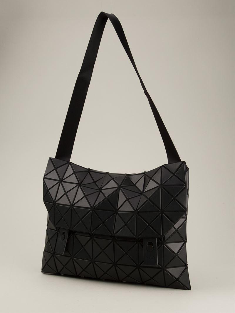 Lyst - Bao Bao Issey Miyake  Rock-1  Shoulder Bag in Black 7a26bddf62cfc