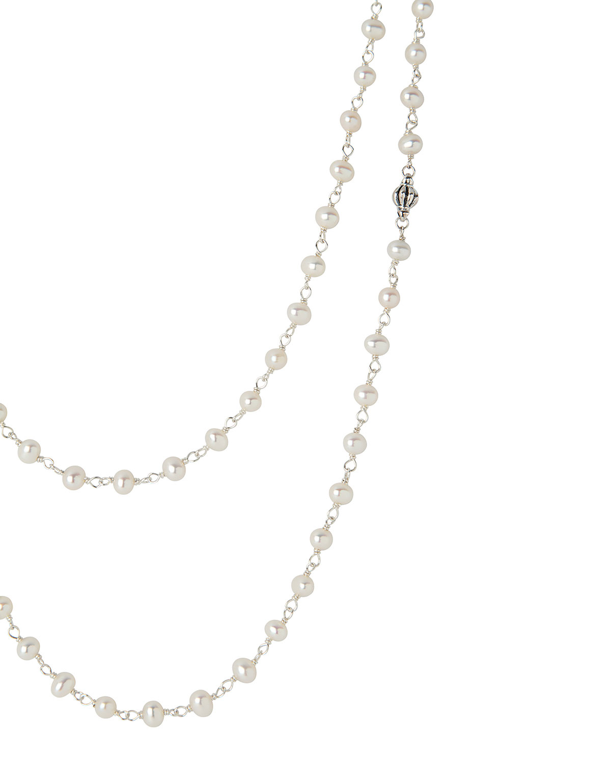 Lagos Pearl Necklace, 36L