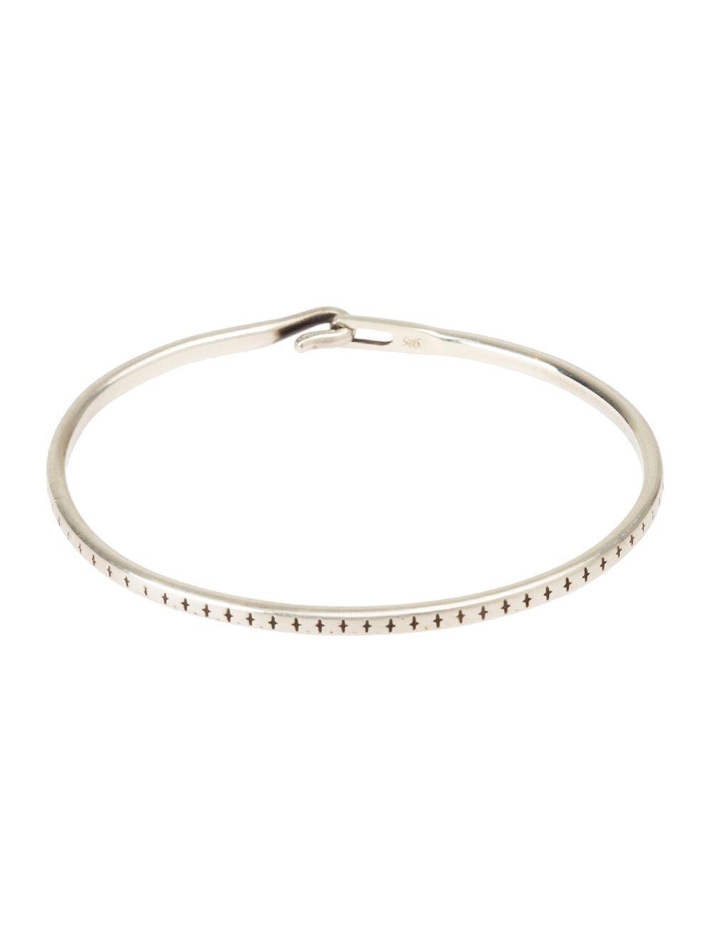 Werkstatt München hook closure bracelet - Metallic feFi9Yg