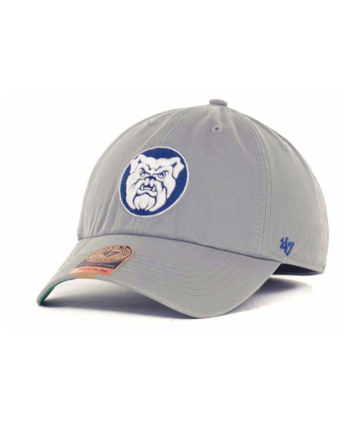677f18cd884 Lyst - 47 Brand Butler Bulldogs Ncaa  47 Grey Franchise Cap in Gray ...
