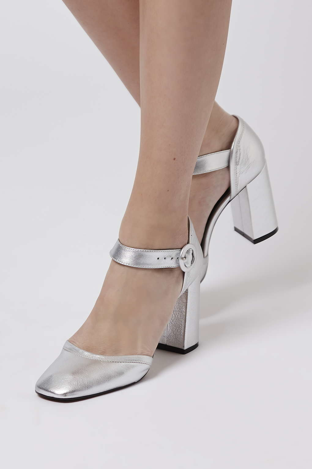 bd923a09ef92 Lyst - TOPSHOP Ginger Mary Jane Shoes in Metallic
