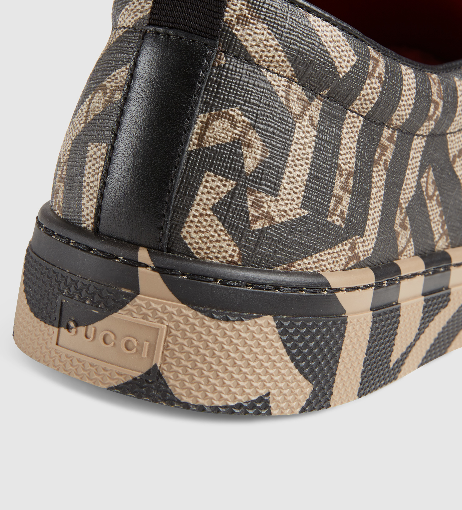 fdbc748d433 Lyst - Gucci Gg Caleido Sneaker in Brown for Men