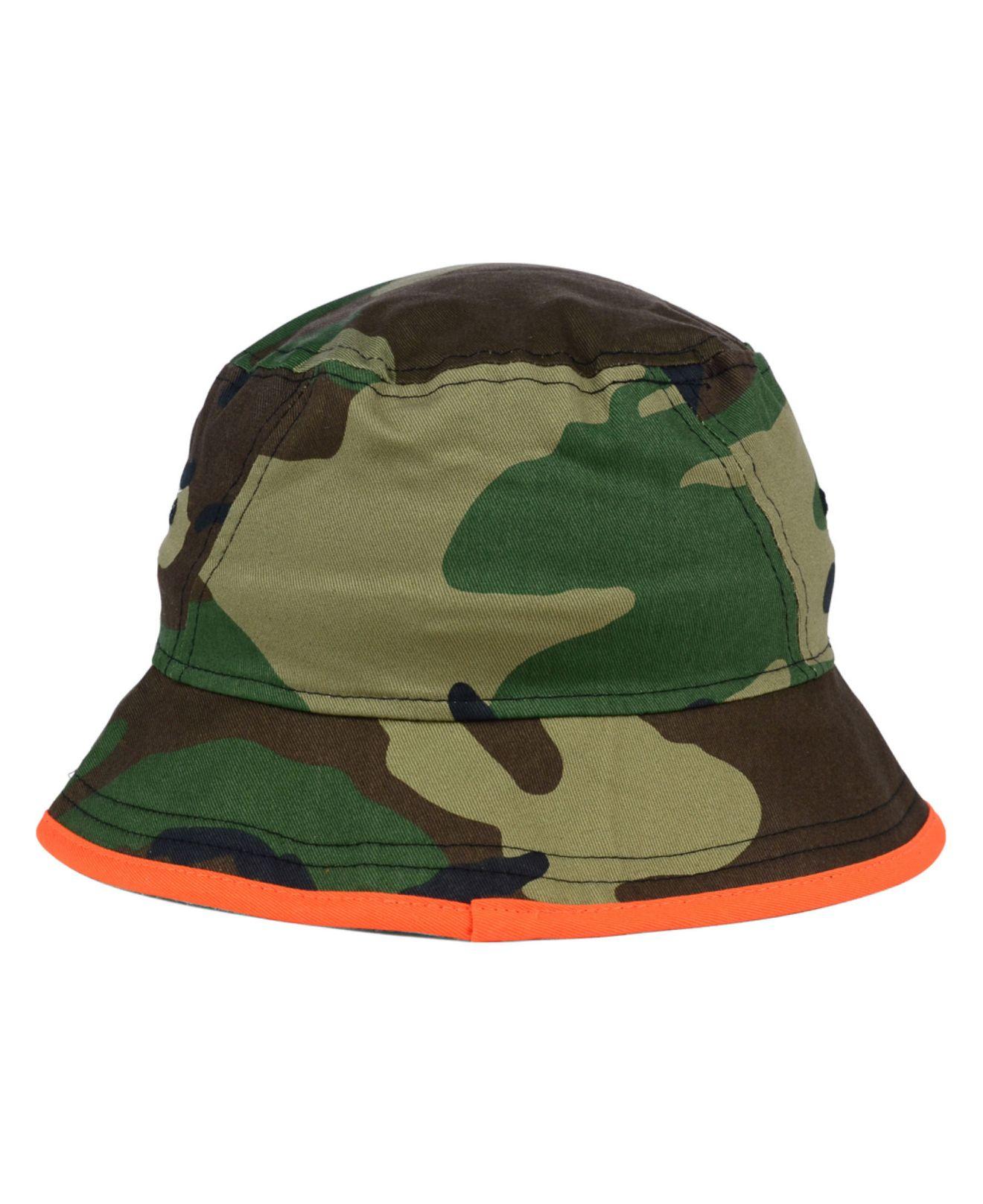 czech lyst ktz cincinnati bengals camo pop bucket hat in green for men  0b860 d4337 323bc99cb