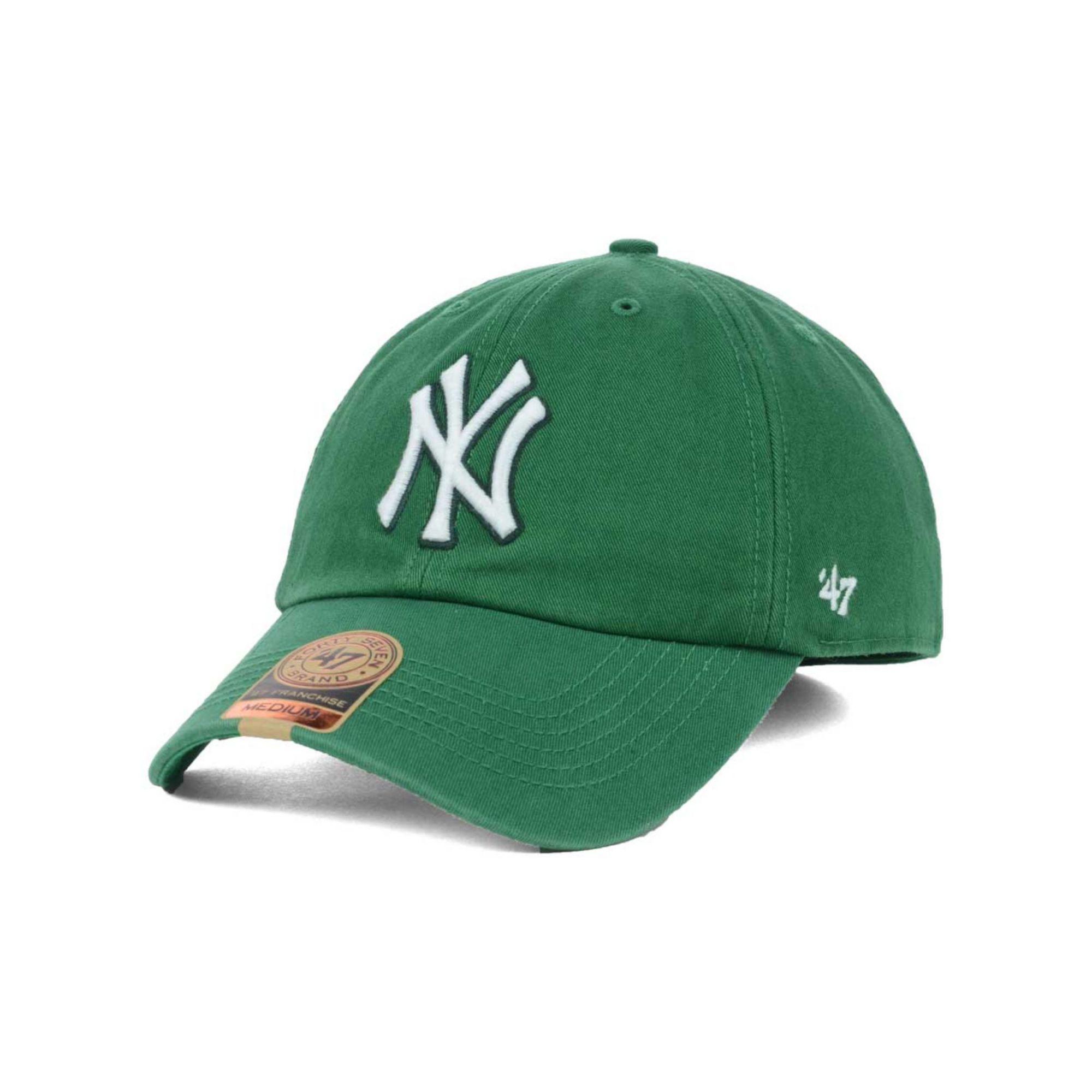 NY Yankees Cap Green