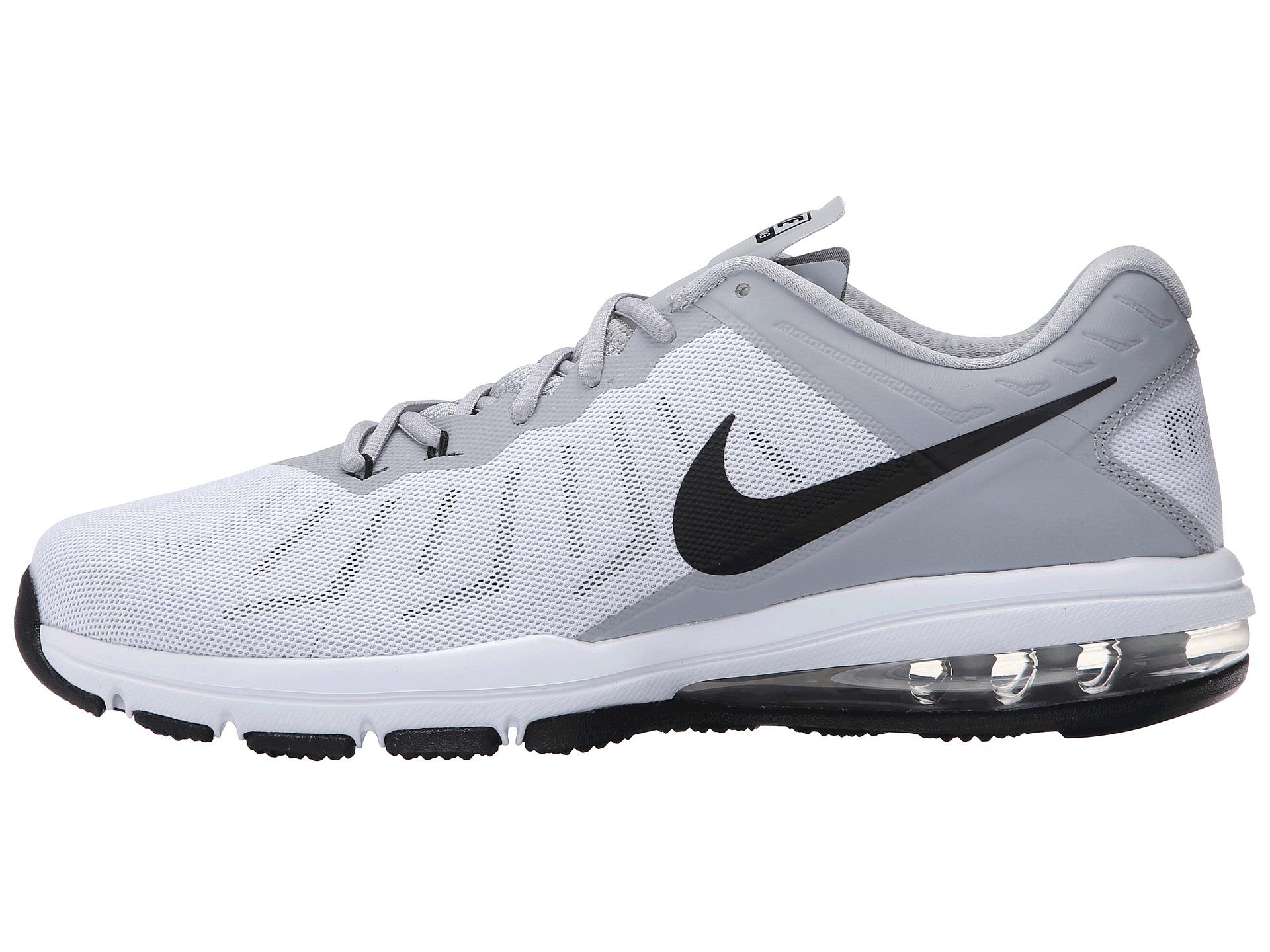 Men Shoes - Nike Air Max Full Ride Training Shoes Black/White/Green