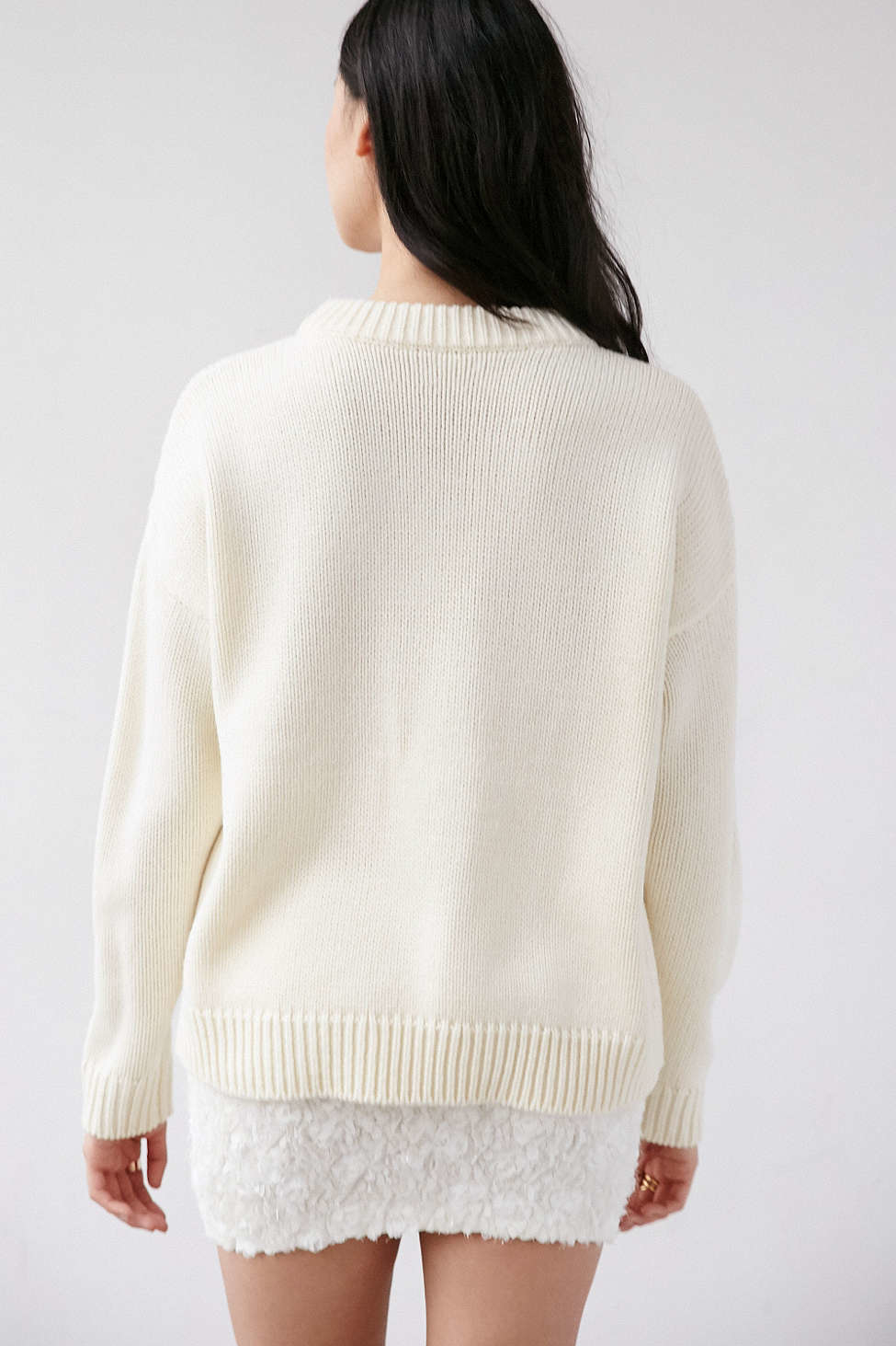 Cooperative Daisy Oversized Pullover Sweater | Lyst