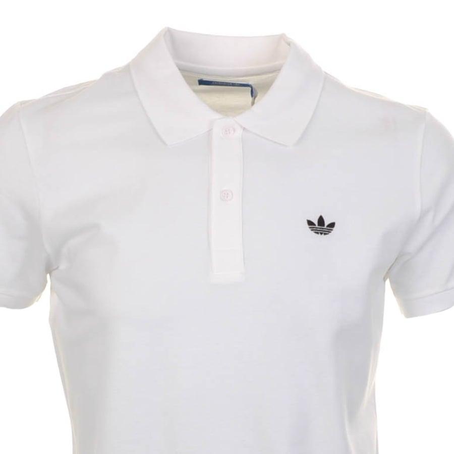 ff70008c4723 Lyst - adidas Originals Adi Polo T Shirt in White for Men