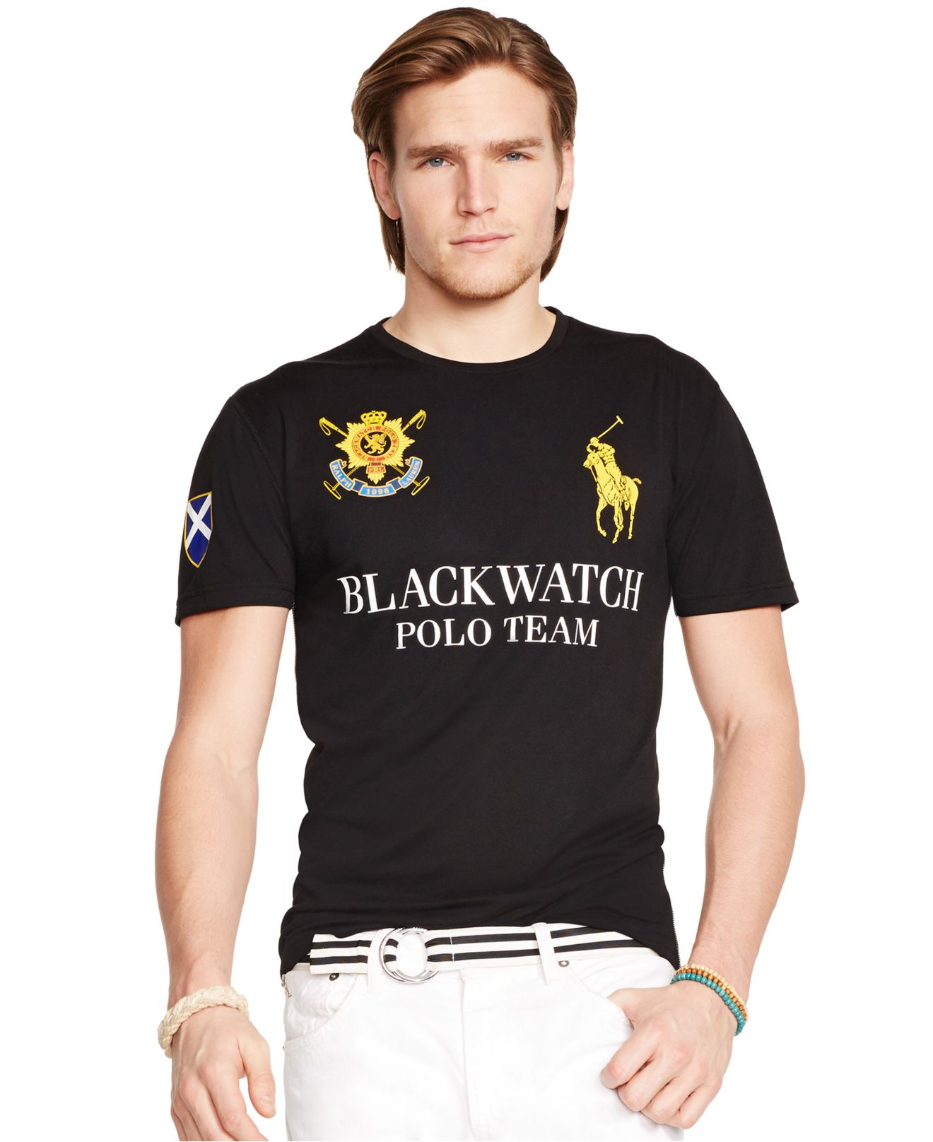 Lyst Polo Ralph Lauren Black Watch Performance Jersey Crew Neck T