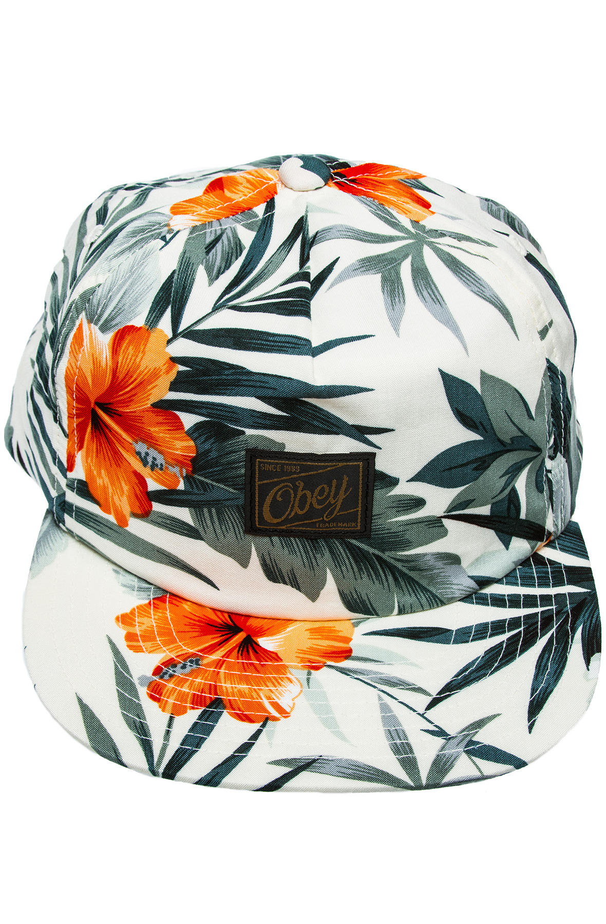 6dc48de1325 Lyst - Obey The Tropics Snapback in Gray for Men