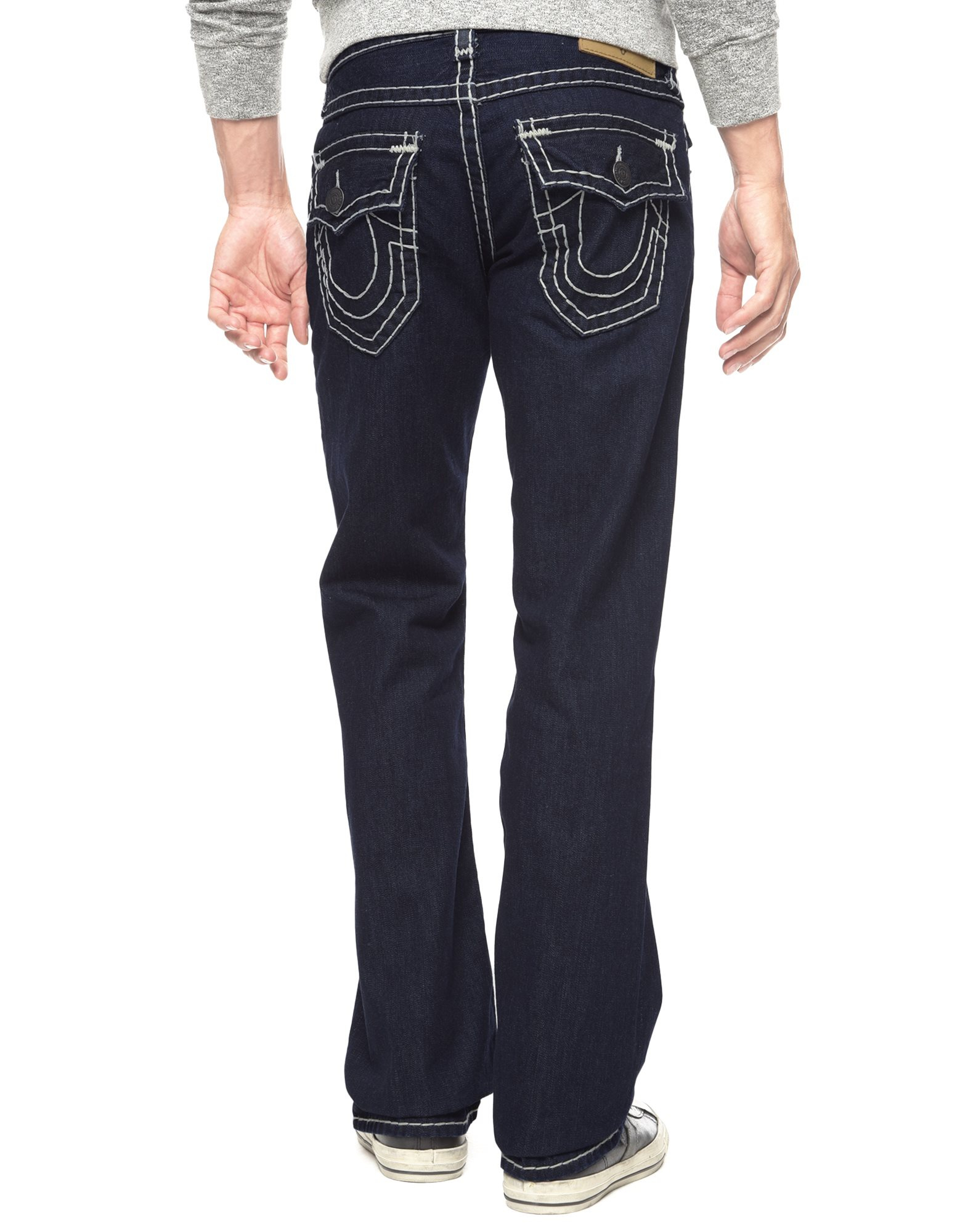 be0908cfb True Religion Billy Bootcut Super T Mens Jean in Blue for Men - Lyst