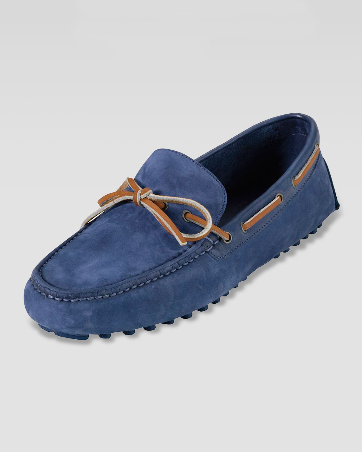 abd3e145c36 Lyst - Cole Haan Air Grant Moccasin Driver Navy in Blue for Men