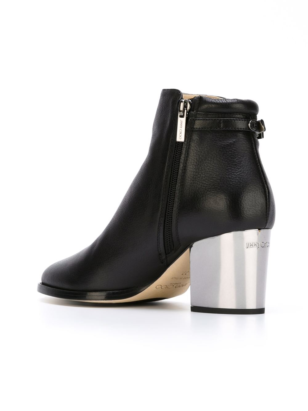 Jimmy choo 'Method' Boots in Black | Lyst