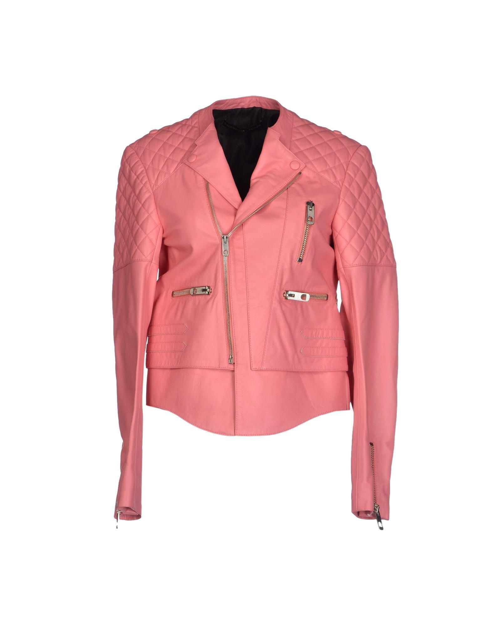 866e905928036 Balenciaga Pink Fur Coat