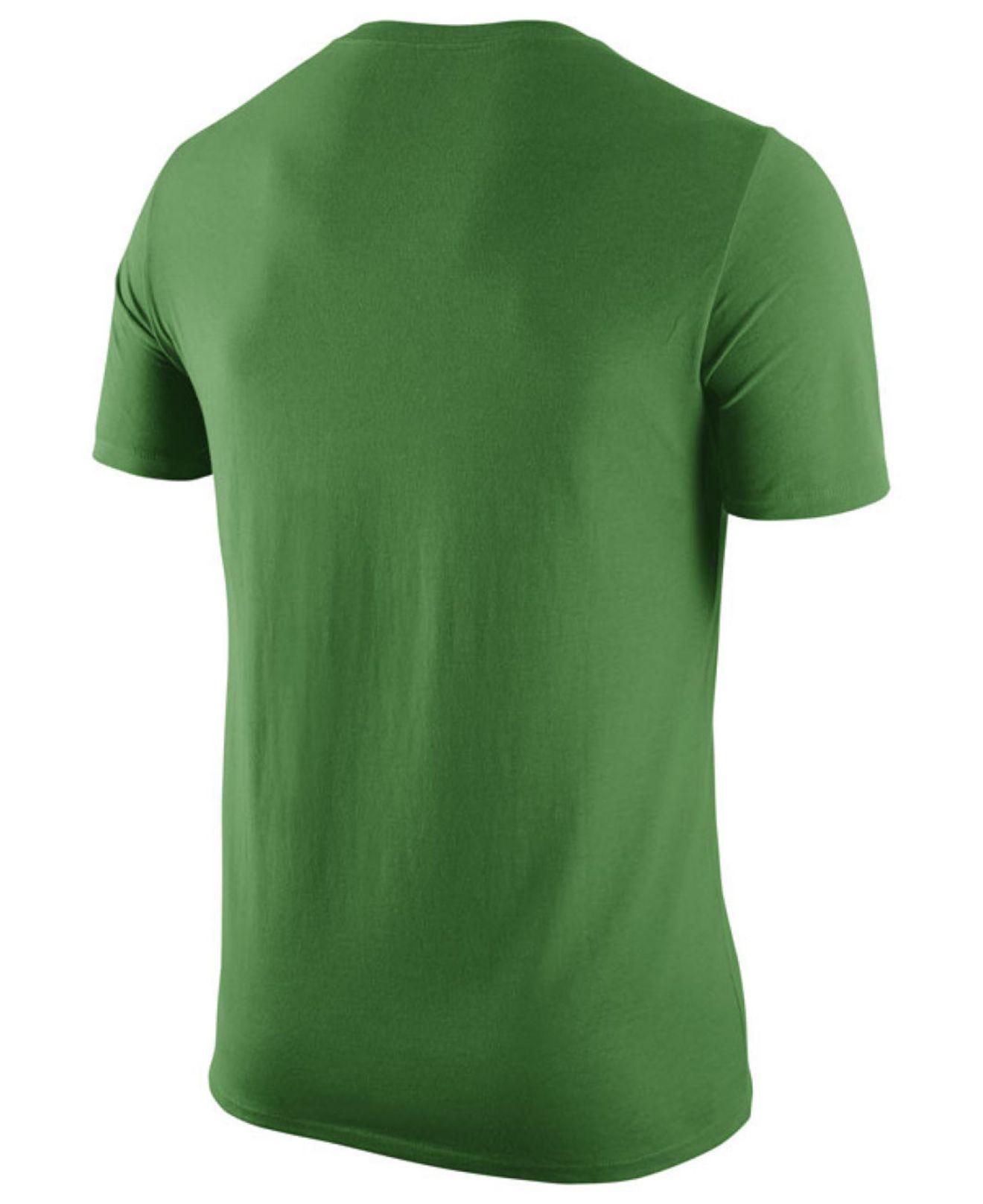 Nike men 39 s oregon ducks stadium team first stripe t shirt for T shirt printing mobile al