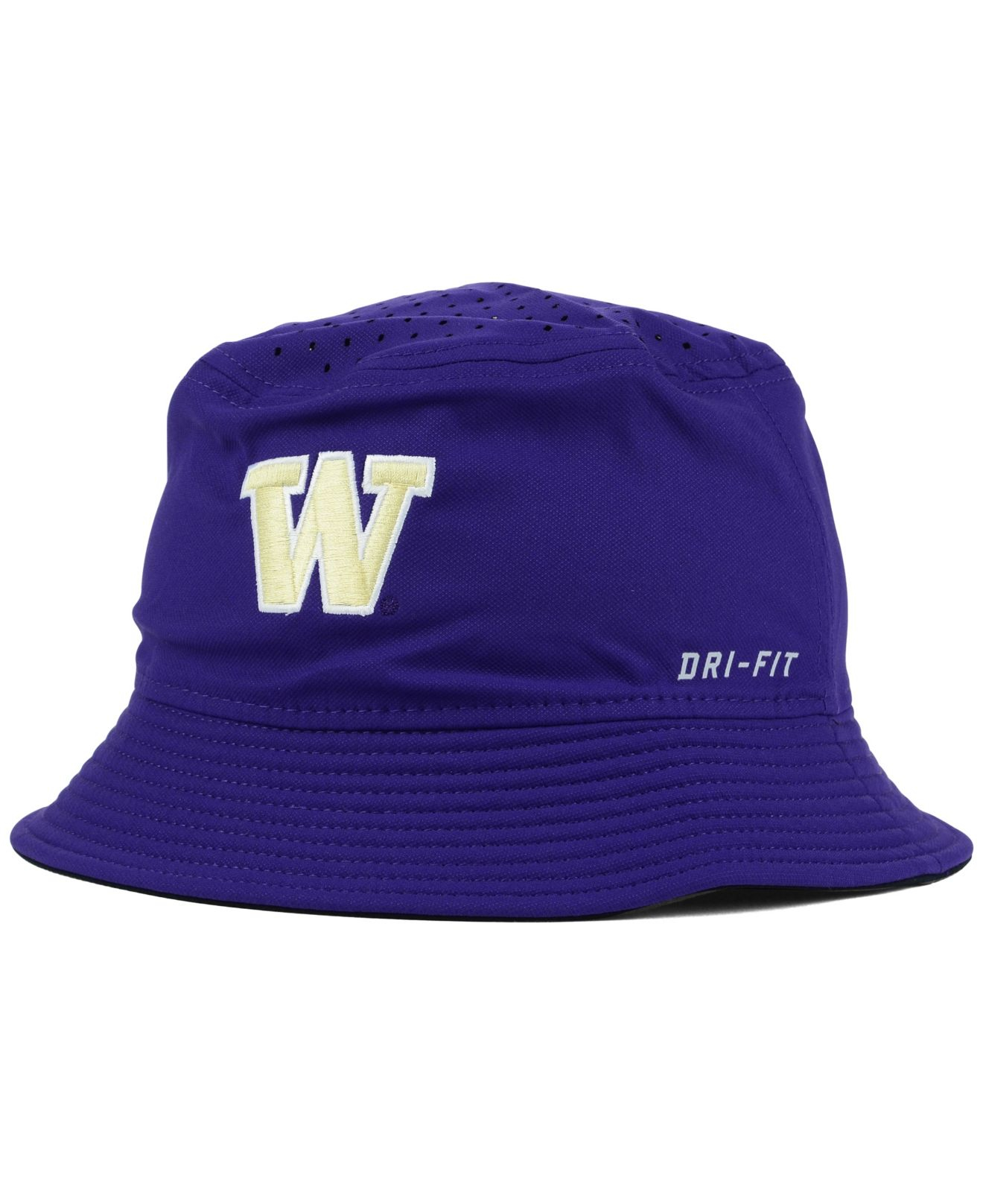 8227906979a Lyst - Nike Washington Huskies Vapor Bucket Hat in Purple for Men