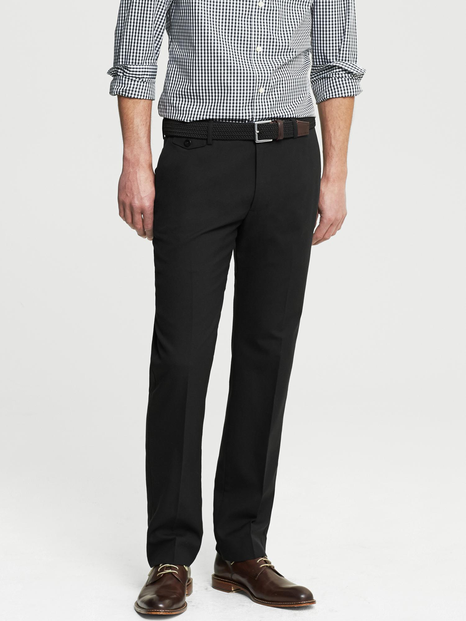 Shop slim fit stretch wool pants at Neiman Marcus, where you will find free shipping on the latest in fashion from top designers.