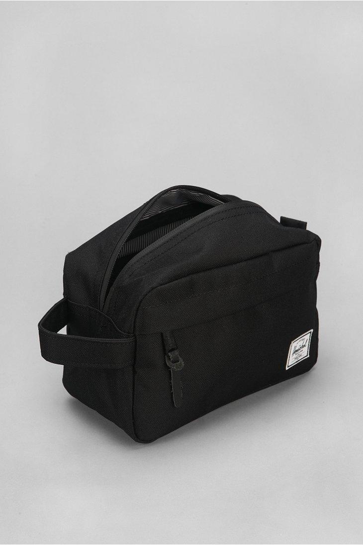 9e58587c627a Lyst - Herschel Supply Co. Chapter Dopp Kit Bag in Black for Men