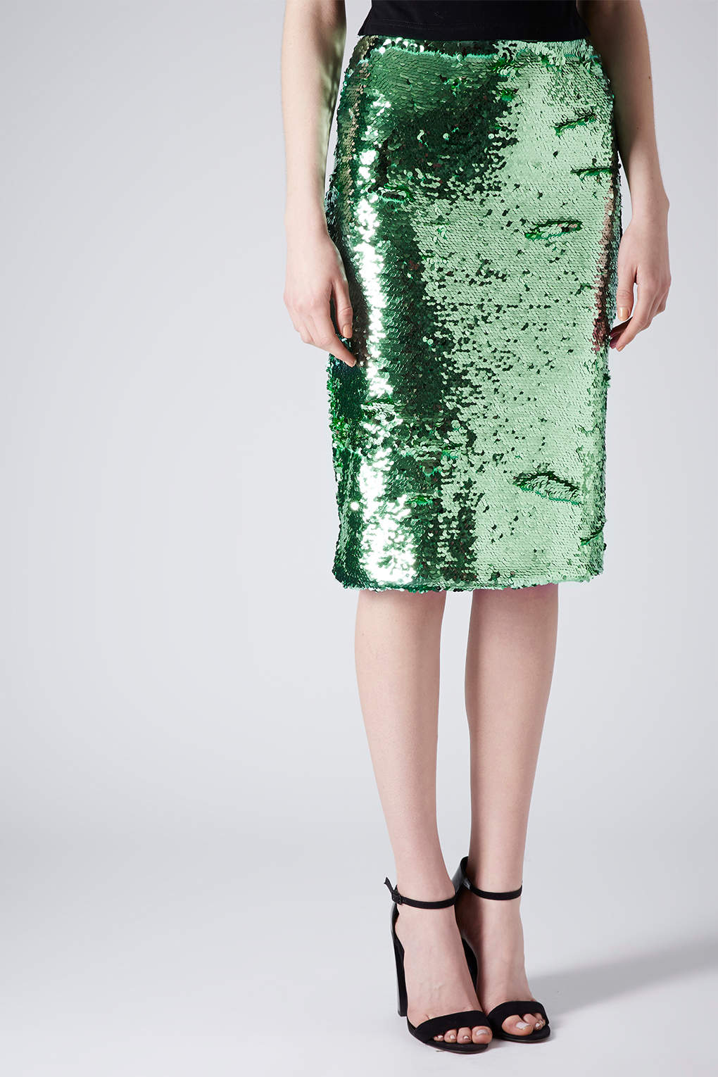 Green glitter pencil skirt – Modern skirts blog for you