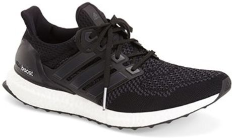 Adidas 'Ultra Boost' Running Shoe in Black for Men (CORE BLACK SOLAR ...