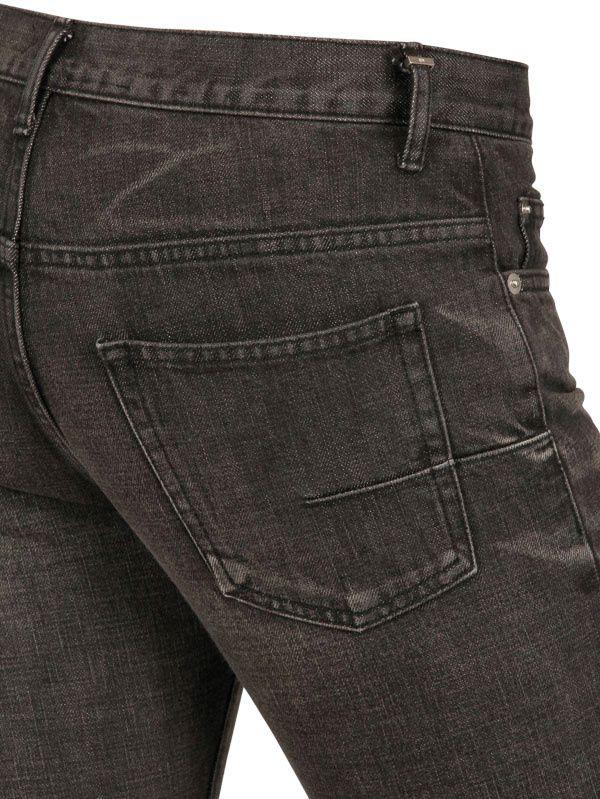 dior homme 19cm used denim jeans in black for men save. Black Bedroom Furniture Sets. Home Design Ideas