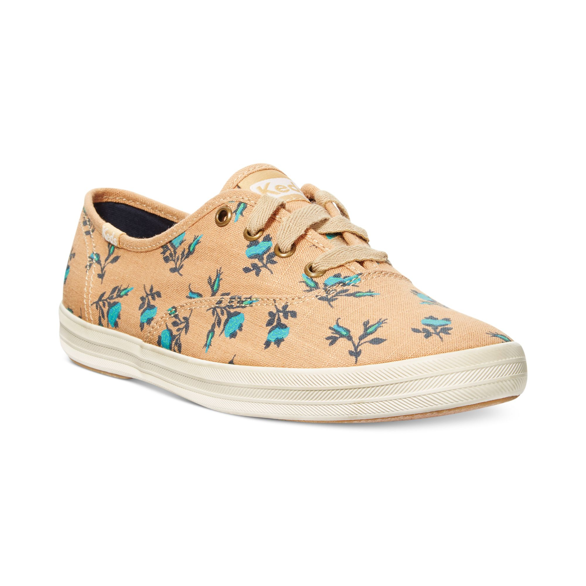 keds womens champion floral sneaker